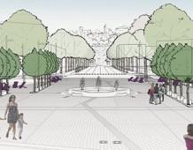Dopo le critiche Piazzale Marconi si trasforma in green square
