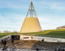La biblioteca della University of Technology di Delft, Olanda