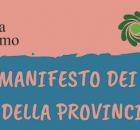 Manifesto dei giovani della provincia