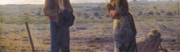 Jean François Millet, L'Angelus, 1859