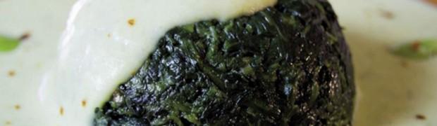 Sformati di cicoria con crema di fave