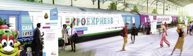 Tutti in carrozza parte ExpoExpress
