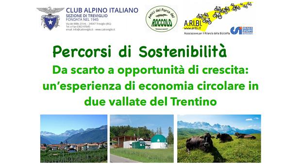 Percorsi di sostenibilità - Da scarto a opportunità di crescita: un'esperienza di economia circolare in due vallate del Trentino