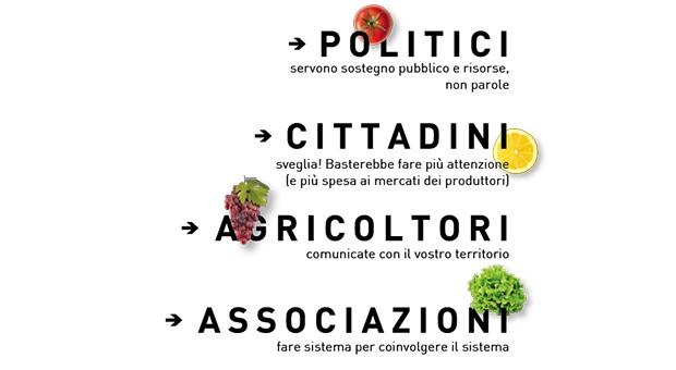 L'agricoltura che vogliamo ha il gusto dei territori