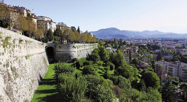 Le mura di Bergamo verso UNESCO