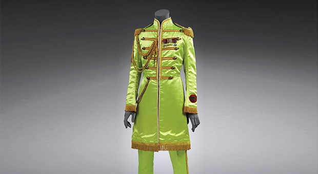 John Lennon's Sgt. Pepper Suit, 1967 Image © Victoria and Albert Museum, reproduced with permission from Yoko Ono Lennon