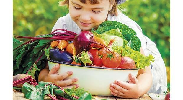 Per un'alimentazione a base vegetale sana ed equilibrata