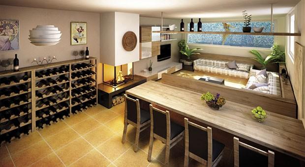 Interno villa progetto casa Vavassori