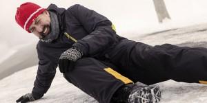 Freddo, ghiaccio e… cadute