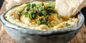 Hummus al cipollotto