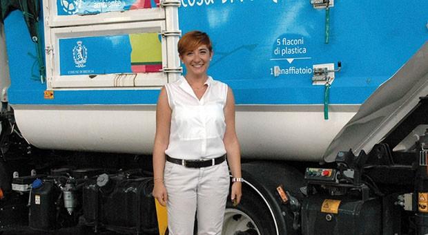Il neoassessore all'ambiente di Brescia Miriam Cominelli