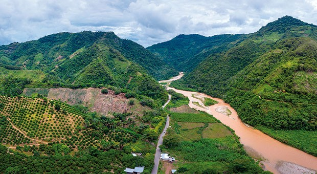 L'Amazzonia in fiamme